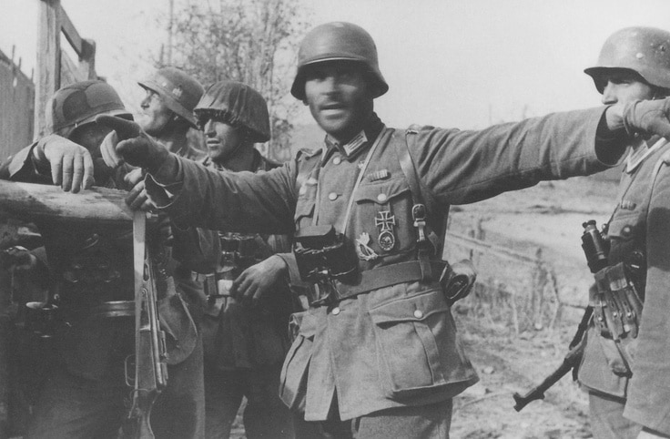 305th Infantry Division soldiers at Stalingrad