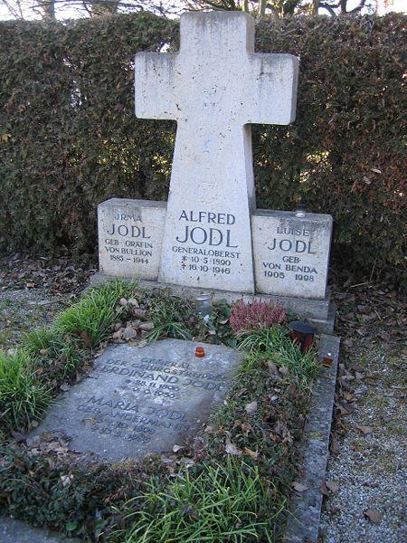 Alfred Jodl Grave