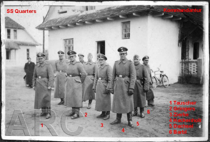 Belzec Extermination Camp Staff