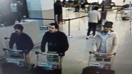 Terrorists in Brussels airport moments before detonating their bombs