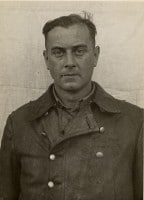 SS-Hauptsturmführer Dr. Hannes Eisele arrested after the war.