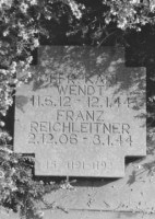 Grave for SS-Untersturmführer Gottfried Schwarz at Costermano German Military Cemetery.