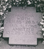 Grave of SS-Sturmbannführer Christian Wirth, Belzec and Field Chief of Operation Reinhard