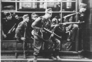 Iconic Photo of Dirlewanger Assault Group at Warsaw Uprising