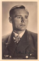 Autographed Photo of Engelbert Endrass, U-46