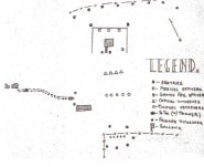 Sketch of Execution Site, Loire Disciplinary Training Center