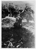 Iconic photo of Einsatzkommando action in Russia