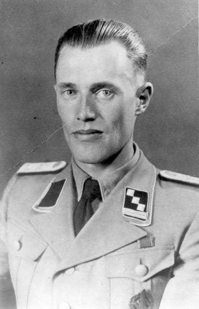 Personnel file photo of Franz Novak