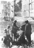 German 20mm Cannon at the Warsaw Ghetto