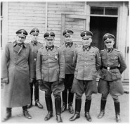 SS Officers at Gross-Rosen about 1941