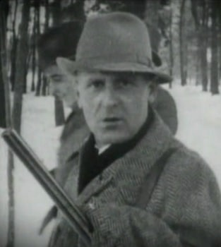 Photo supposedly of Heinrich Müller hunting