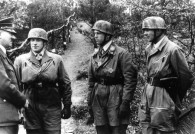 Joachim Meissner Next to Hitler after Receiving the Knights Cross