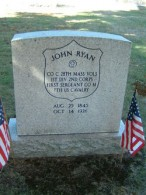 First Sergeant John Ryan's Grave