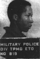 Military Police Arrest Photo of Madison Thomas