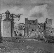 Merode Castle After the Fighting