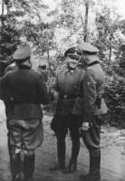 Oswald Pohl Visit to Auschwitz, 1944