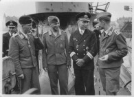 Günther Prien and Luftwaffe Aircrew on U-47