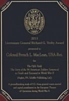 2013 Lieutenant General Richard G. Trefry Award