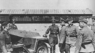 SS Officers with Half-Track at the Umschlagplatz