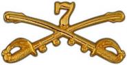 Seventh Cavalry insignia