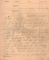 Sonderkommando Dirlewanger Letter dated December 4, 1944