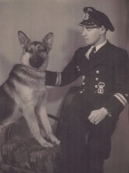 U-boat Engineer Officer and his Dog