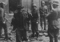 Captured Resistance Fighters by the Waffen-SS