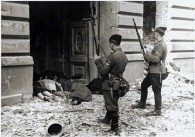 SS Ukrainian Troops at the Warsaw Ghetto